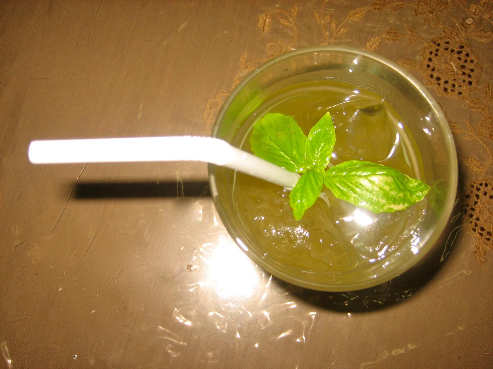 Basil Lime Coolers   Domestic Urbanite