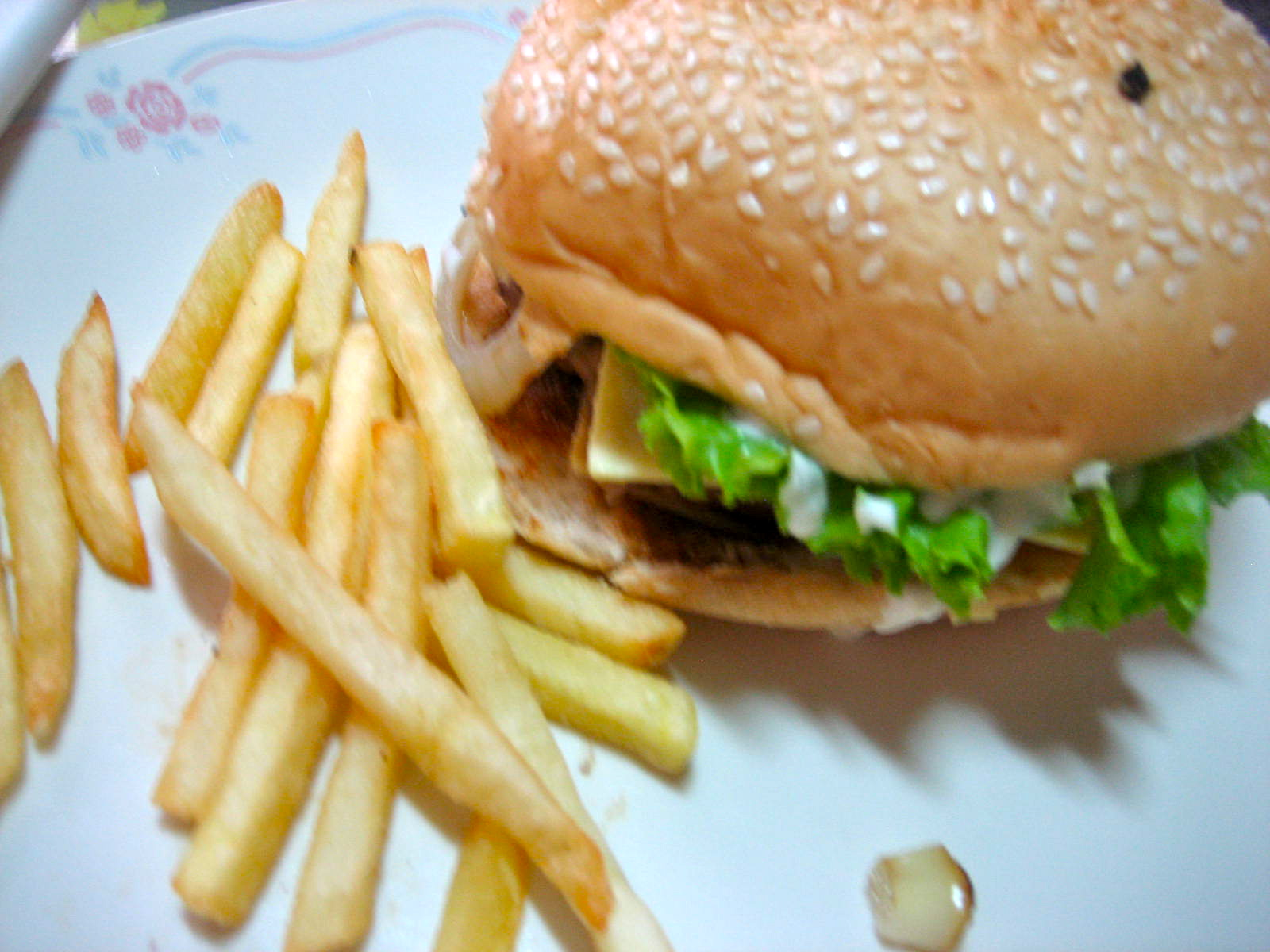Quarter Pounder And Fries Quarter Pounder Burger...