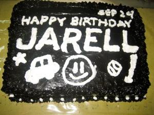 (Belated) happy birthday Jarell!