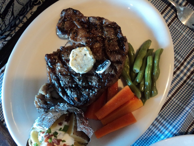 Mom's steak