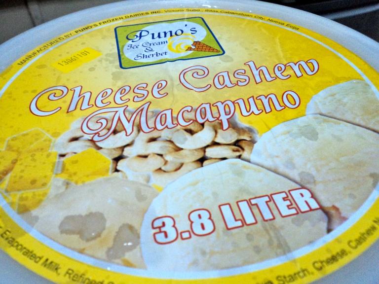 Huge huge huge container of ice cream