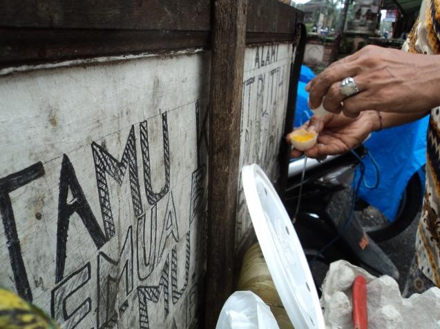 Street vendor of Jamu