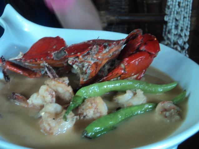 Coconut fish stew :)