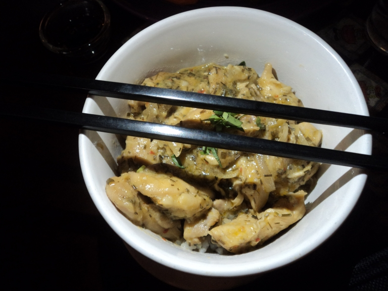 My Thai tasting Vietnamese Chicken Bowl
