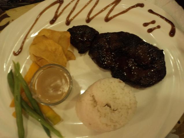 Mom's steak :)