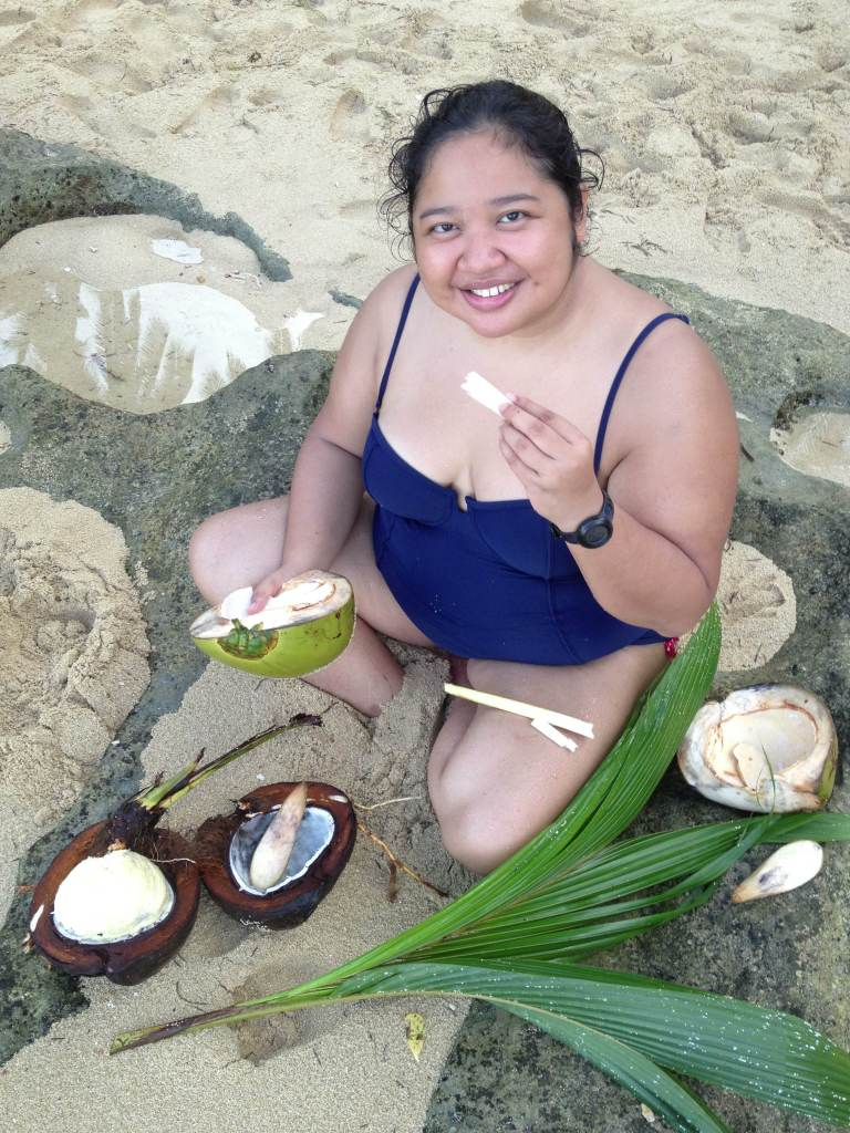 Me,, surrounded by versions of buko