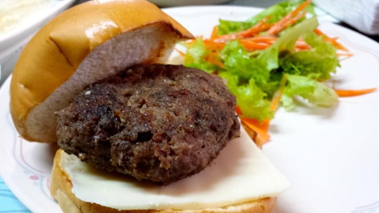 Burger :) Huge one.