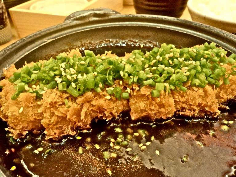 Curry tonkatsu