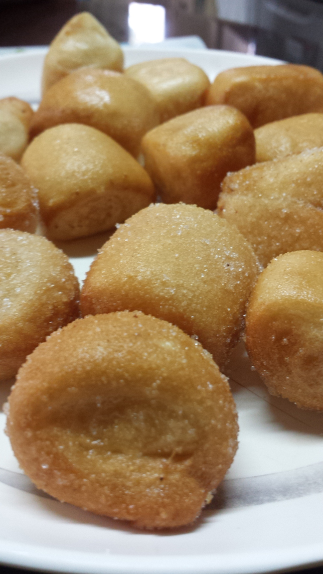 Fried and sugar-coated!