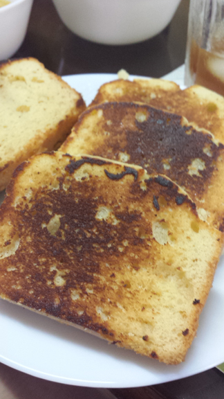 Pretty toasted bread :)