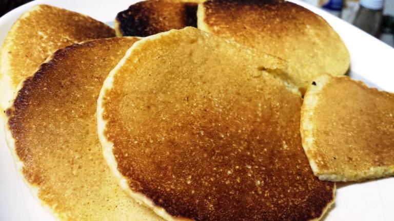 Cornmeal pancakes!