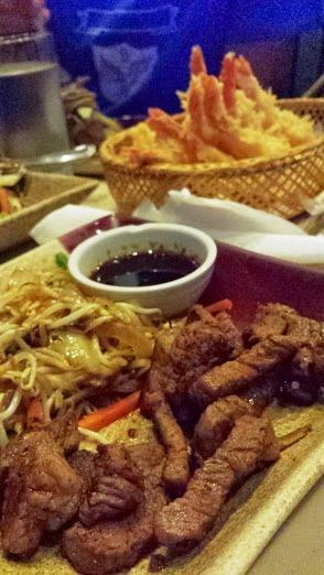Beef and more tempura