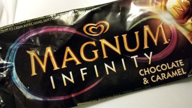They have magnum infinity (they also have magnum mini) which we do not have here :)