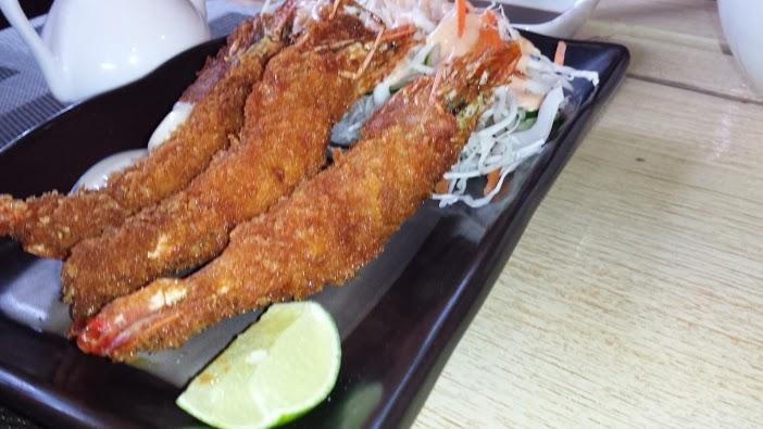 Some ebi tempura