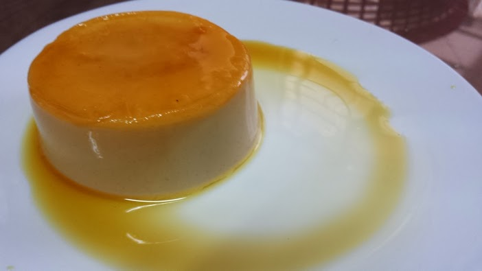 My overly hard panna cotta