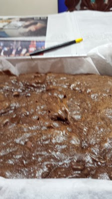 Cooked brownies