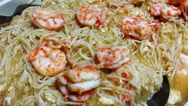 Just the regular shrimp flavor