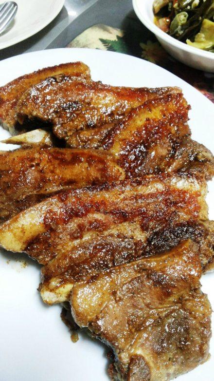 Liempo slices