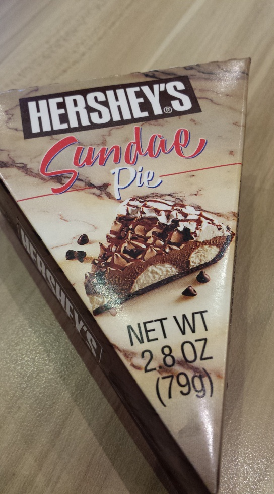 Sundae Pie in a neat packaging