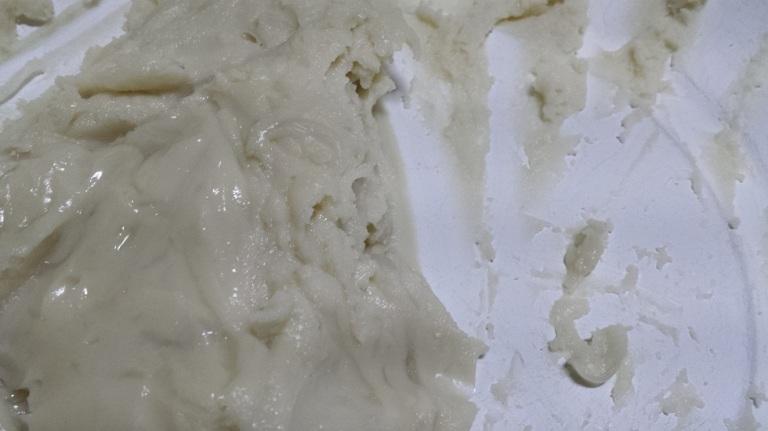 The unappetizing dough