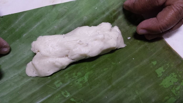 Rolled like a suman, another rice cake
