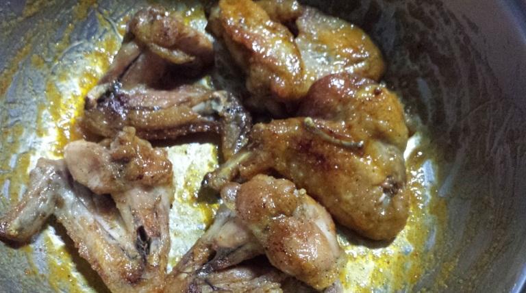 Messy chicken