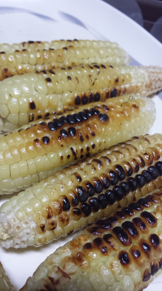 Wonderful grilled corn