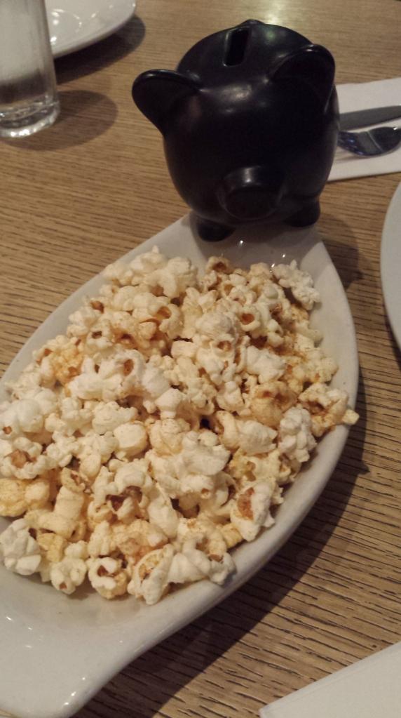 Popcorn appetizer
