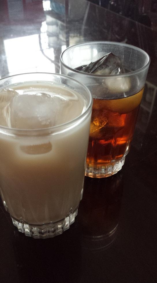 Milk and regular tea