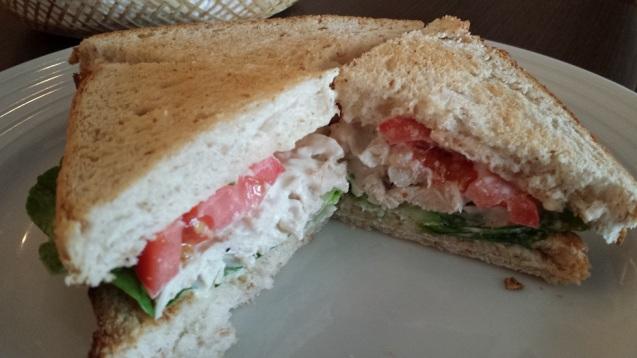 Mom's sandwich