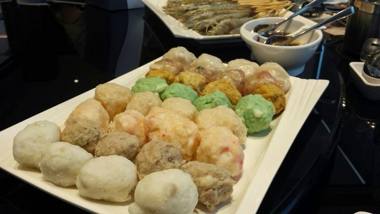 Dumplings and balls