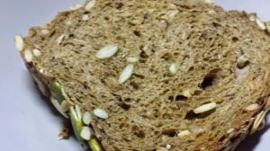 Multi-grain bread. Worth the P195 for a small loaf