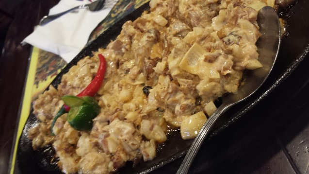 Turkey sisig