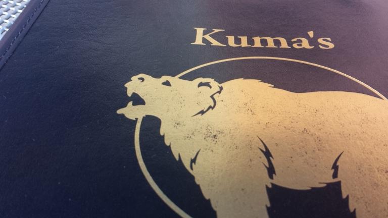 Kuma's!
