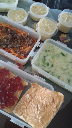 My packed meals